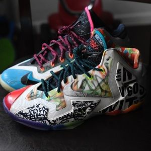 """Nike lebron """"WTL"""" 11s"""